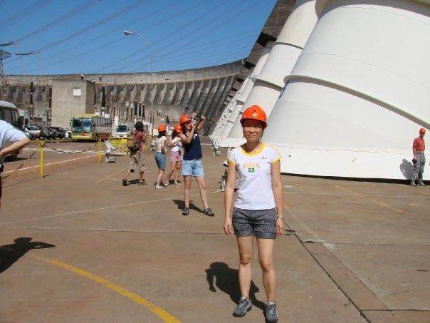 Argentina - Brazil trip, at Itaipu Dam, December 2009
