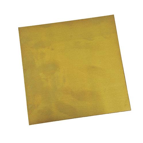 """6"""" x 6"""" Brass Sheet"""