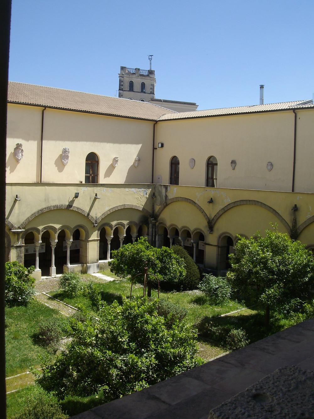 Chiostro di Santa Sofia