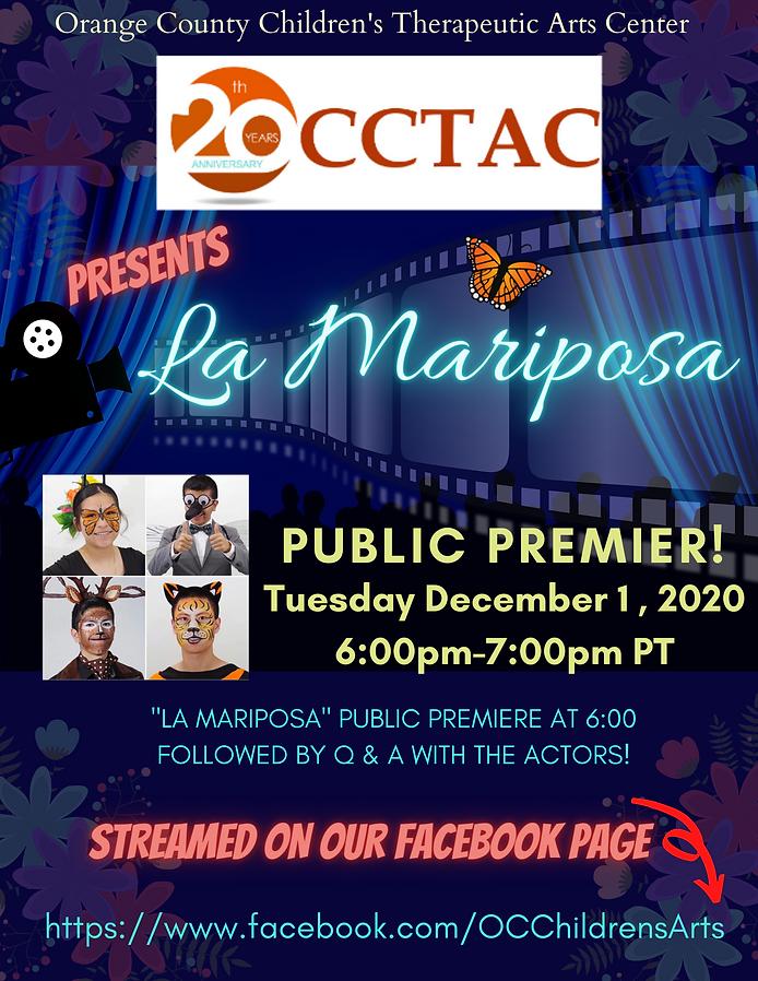 La Mariposa public premier flyer.png