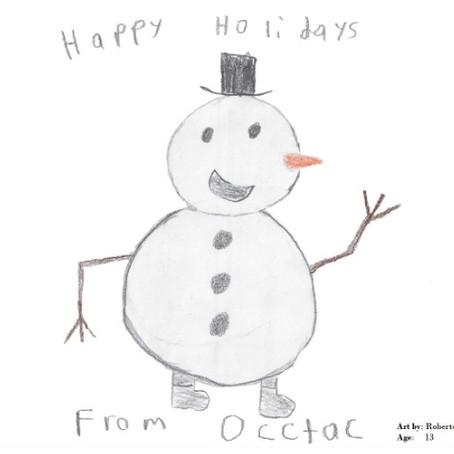 OCCTAC News - Happy Holidays!