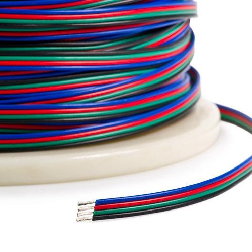 Câble électrique 4 brins