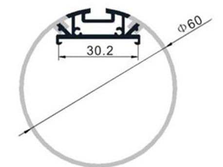 60 Rond - ProfilAluminium