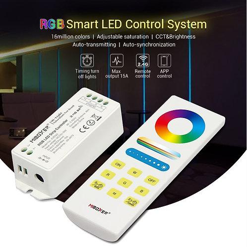 Kit Contrôleur +télécommande RGB Fut043A