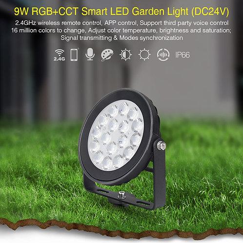 Projecteur MI-LIGHT Rond 9W RGB+CCT(24V) IP54 Futc01
