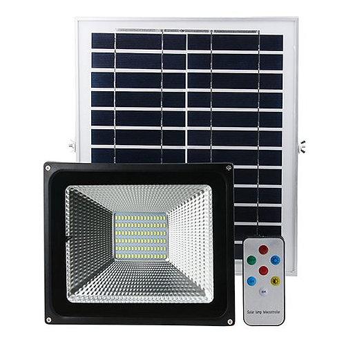 Projecteur avec panneau solaire 10W
