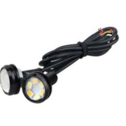 Mini spot 12V 2W bicolore+ 40cm de câble