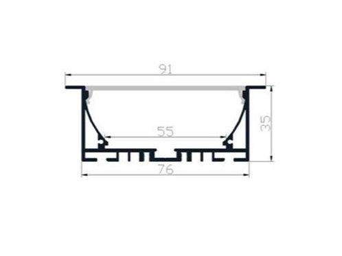 9135 - Profil aluminium