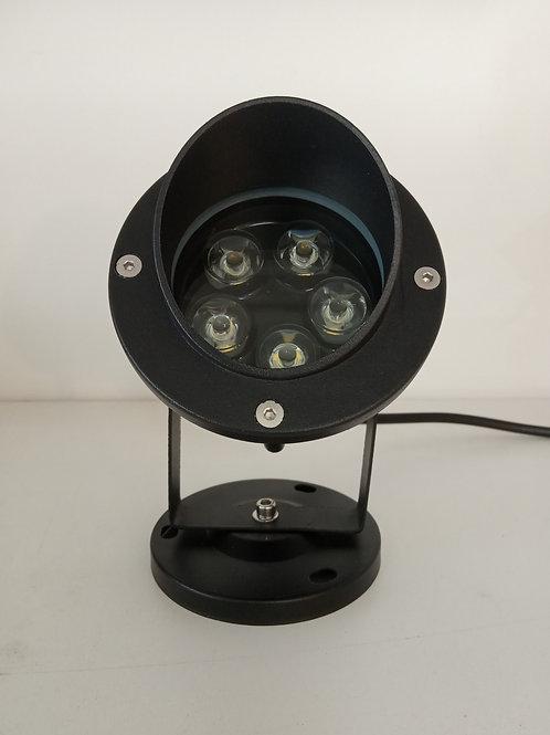 Spot 12V casquette IP65 5W 3000K