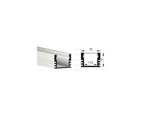 1103 carré - Profil Aluminium