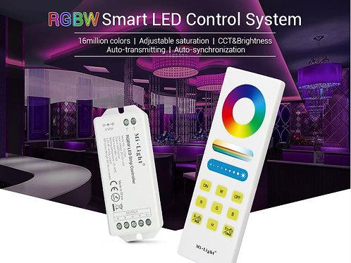 Kit Contrôleur +télécommande RGBW Fut044A