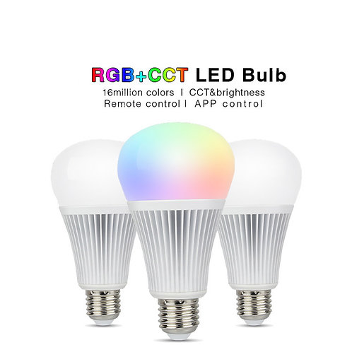 Ampoule multicolore 12W