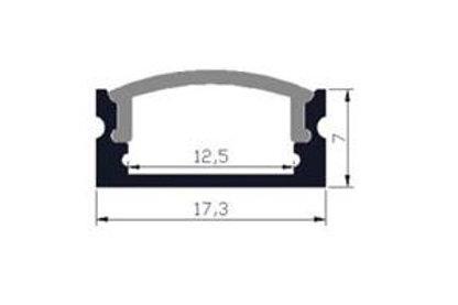 05 - Profil aluminium plat 17.3