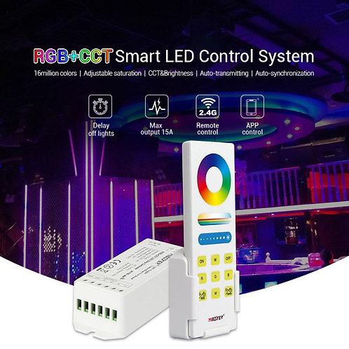 Kit Contrôleur +télécommande RGBWW Fut045A