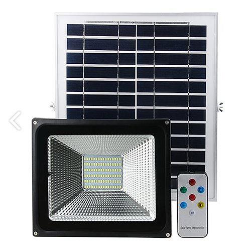 Projecteur avec panneau solaire 20W