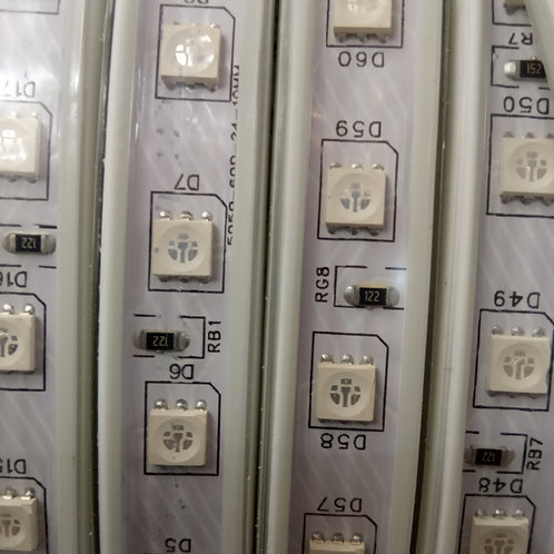 Ruban Led 220V gaine IP65 RGB