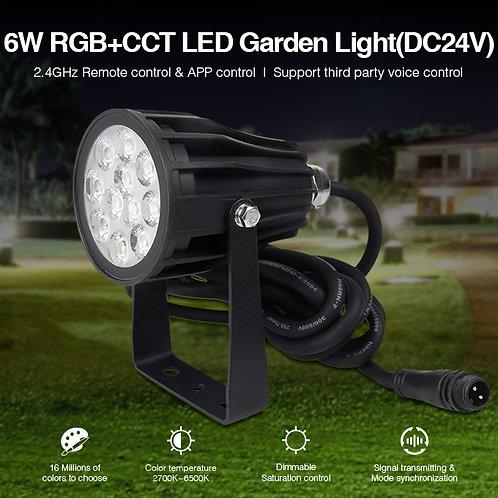 SPOT MI-LIGHT Rond 6W RGB+CCT IP54 Futc08