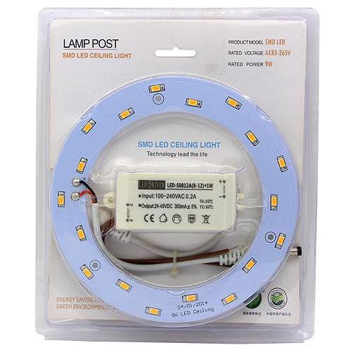 Anneau LED pour plafonnier ou brasseur