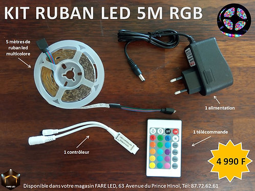 Kit Ruban Led 1.2W