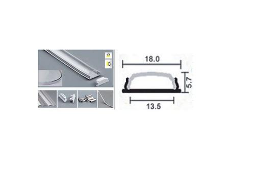 073 - Profil Aluminium pliable 18 x 5.7