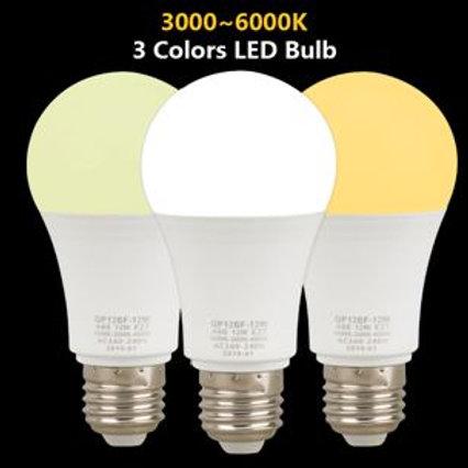Ampoule E27 12W 3en1