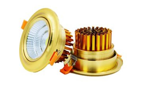 Spot encastrable R0103 Golden 12W