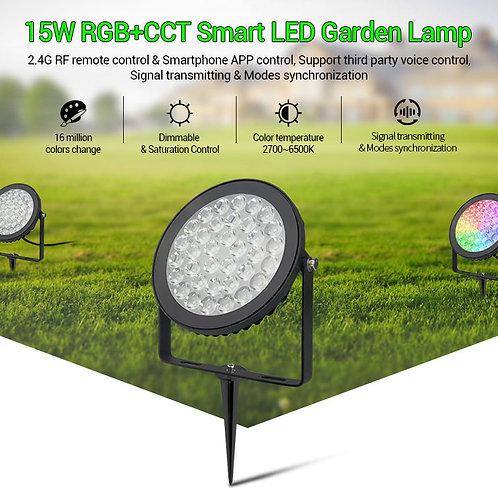 Projecteur MI-LIGHT Rond 15W RGB+CCT Futc03