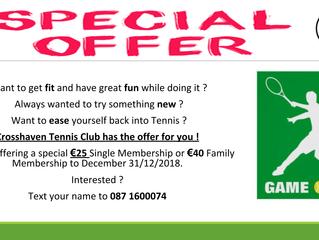Special Membership Offer
