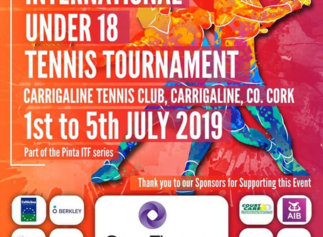 International Under 18 Tournament Training Days at the club!