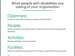 Sports inclusion and disability awareness