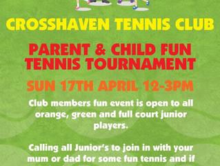 Parent and Child Fun Tournament!