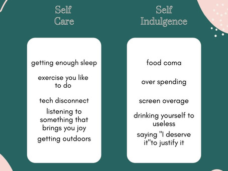 Self Care-How hard can it be?