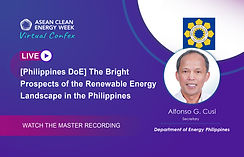 [Philippines DOE] The Bright Prospects of the Renewable Energy Landscape in the Philippines