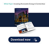 Investing Renewable Energy in  Central asia