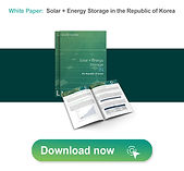 Solar + Energy Storage in the Republic of Korea