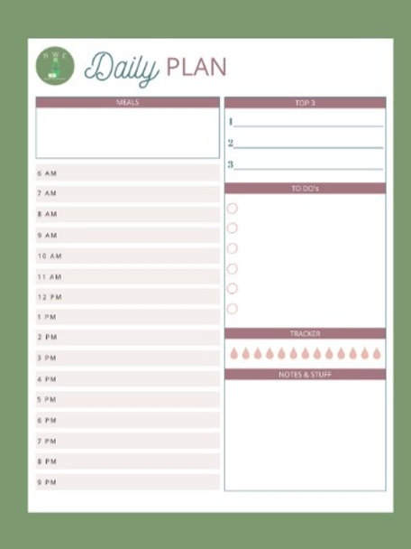Daily Planner - DP004