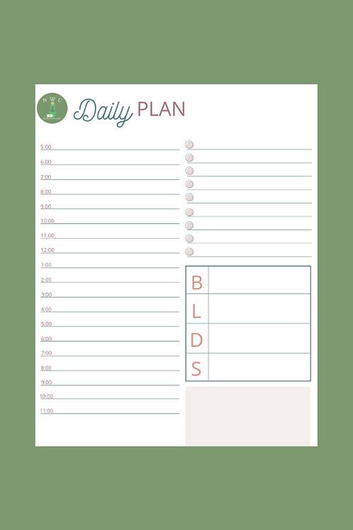 Daily Planner - DP005