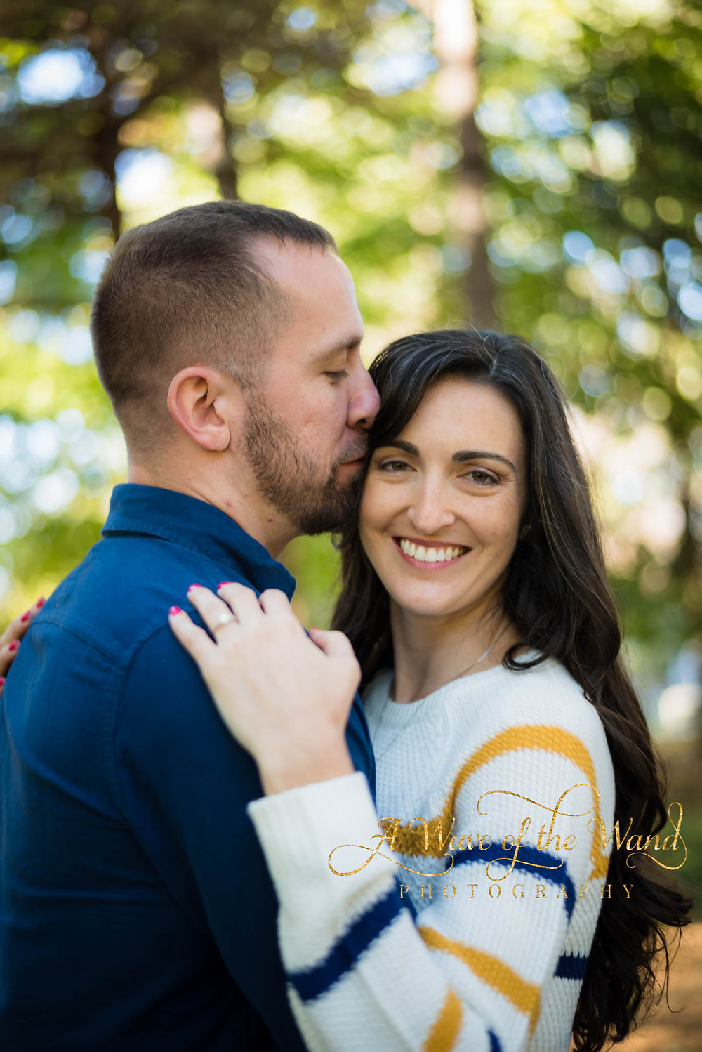 fall Lexington engagement portraits