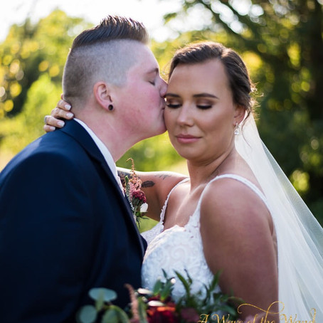Teaser from Mrs and Mrs Mynear New Albany , Indiana Wedding