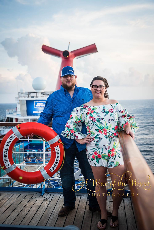 sunset cruise portraits