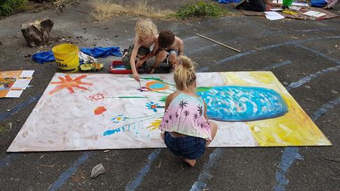 project: samen schilderen