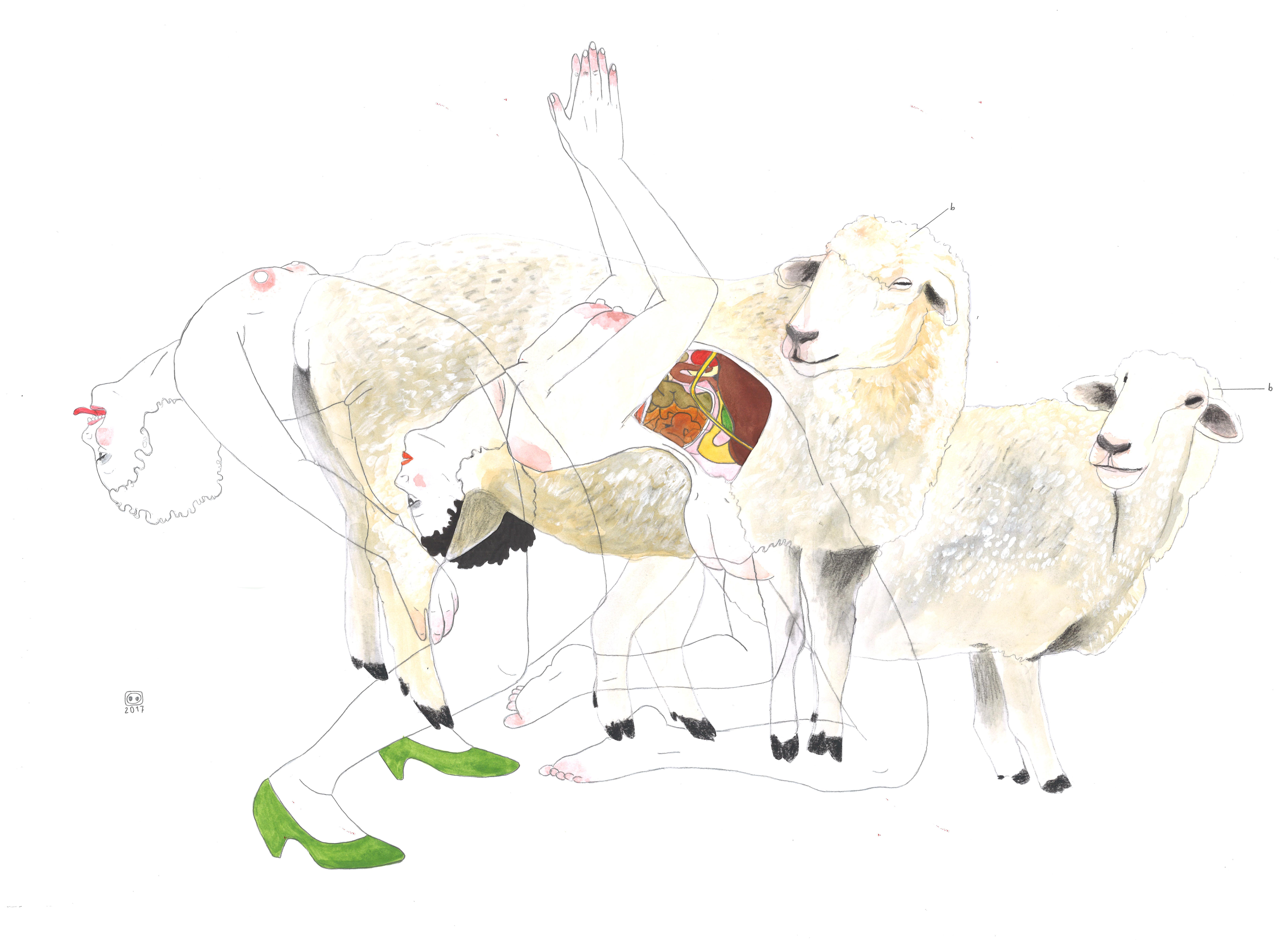 Moutonnes
