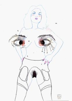 Femme louche, etc, 2016