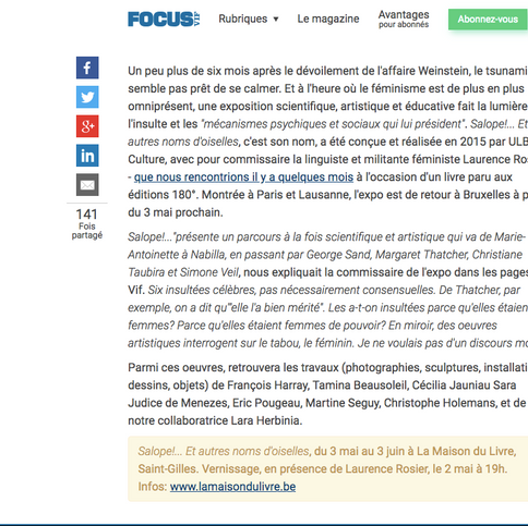 Focus Le Vif.be