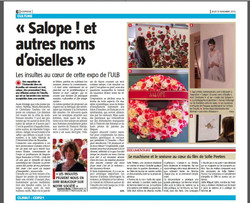 Revue de presse Expo Salope