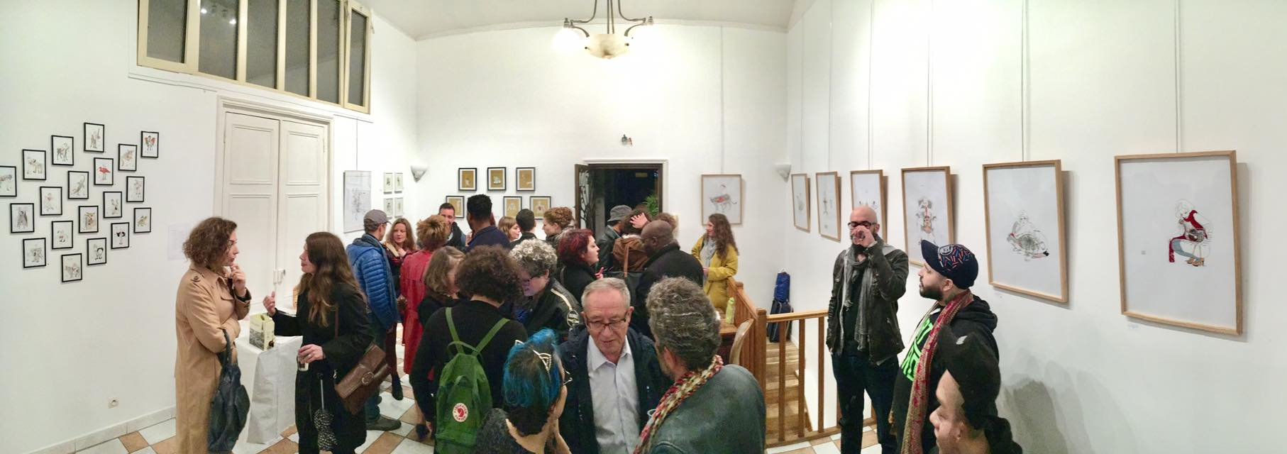 Vernissage l'atelier Gustave