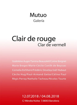 Clair de rouge/Clar de Vermell