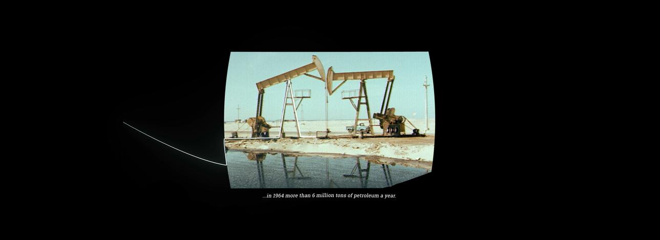 l'Italia e il petrolio