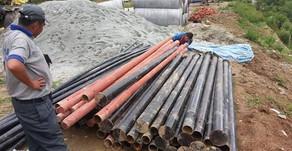 September - Dezember 2017   Strommasten aus Eisen für das Kraftwerk