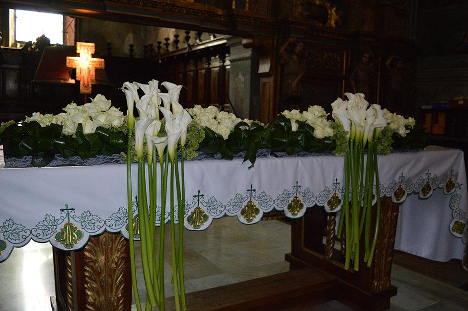Fleuriste nice d coration florale de mariage bouquets de mari es - Compo florale mariage ...